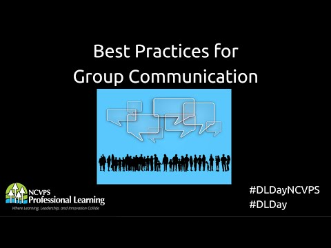 Best Practices for Group Contact