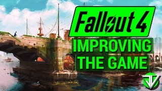 FALLOUT 4: Top 5 Ways Fallout 4 Can IMPROVE To Be A BETTER GAME! (Through DLC and Patch Updates)
