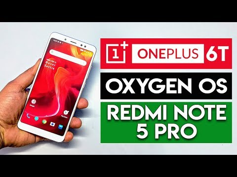 Transform Redmi Note 5 Pro Into OnePlus 6T OxygenOS