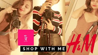 SHOP WITH ME @ H&M   WINTER 2018 SALE COLLECTION   TEJASWI