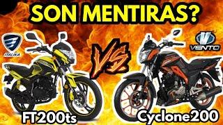 ITALIKA FT200 TS vs VENTO CYCLONE 200 - REVIEW