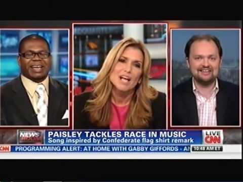 "CNN Newsroom ""Accidental Racist"" w/ Jason Johnson & Ross Douthat 4/9/13"