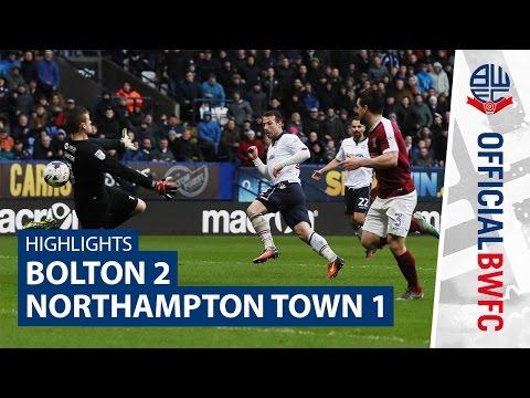 HIGHLIGHTS | Bolton 2-1 Northampton Town