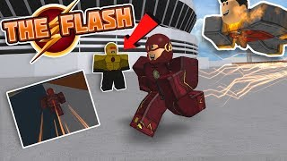 NEW SUPER SPEED POWERS IN ROBLOX?! (The Flash Roblox)
