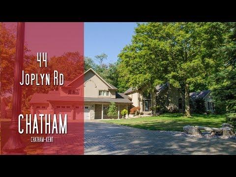 CHATHAM-KENT - 44 Joplyn Rd - Chatham [propertyphotovideo]