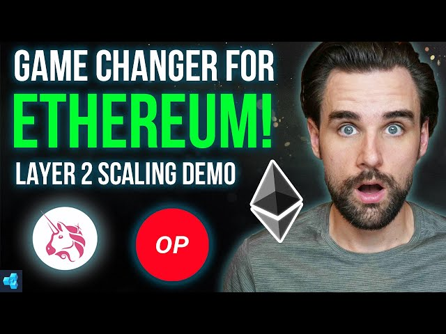Game Changer for Etheruem - Layer 2 Scaling Demo (Optimism & Uniswap)