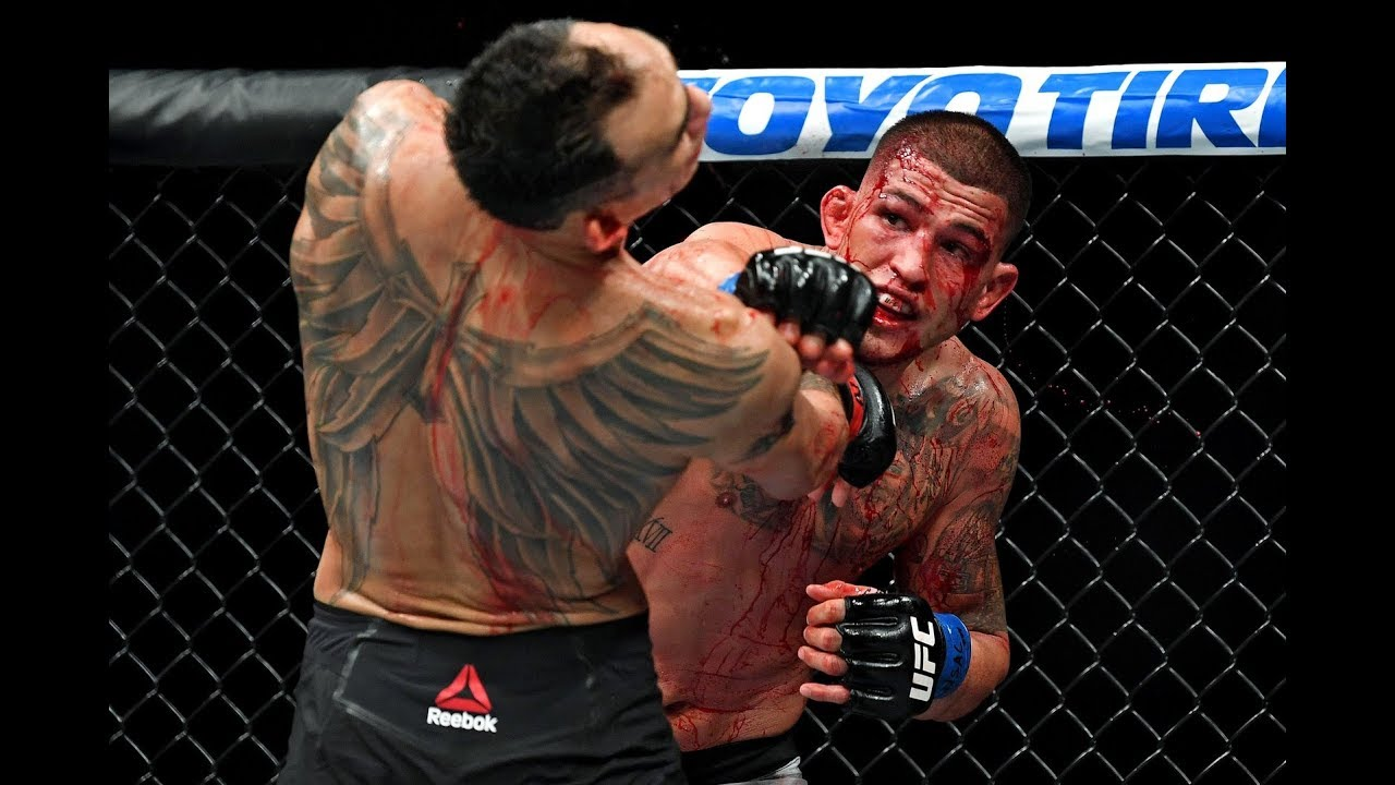 Bloodiest UFC Fight of the Year - Tony Ferguson vs Anthony ...