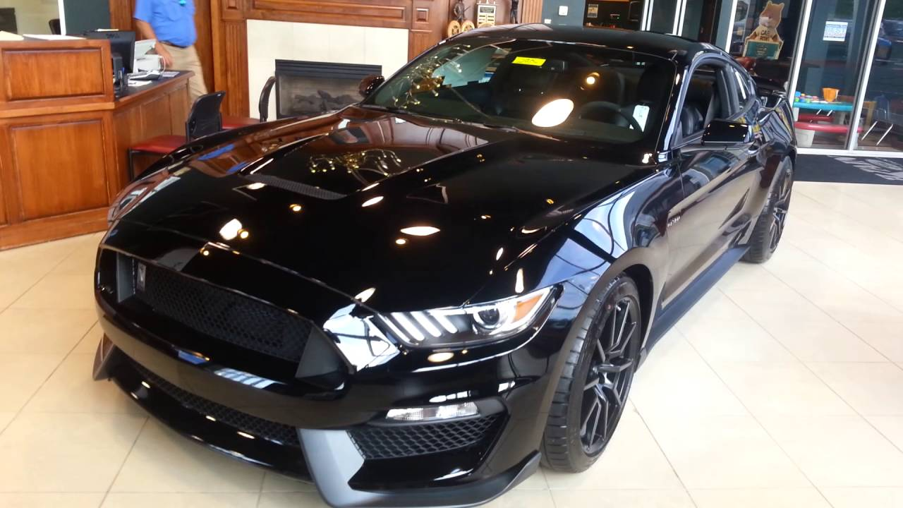 2017 Mustang Gt350 Black >> Just in a 2017 Mustang GT 350 Shelby Cobra - YouTube