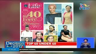 Top 40 under 40 women
