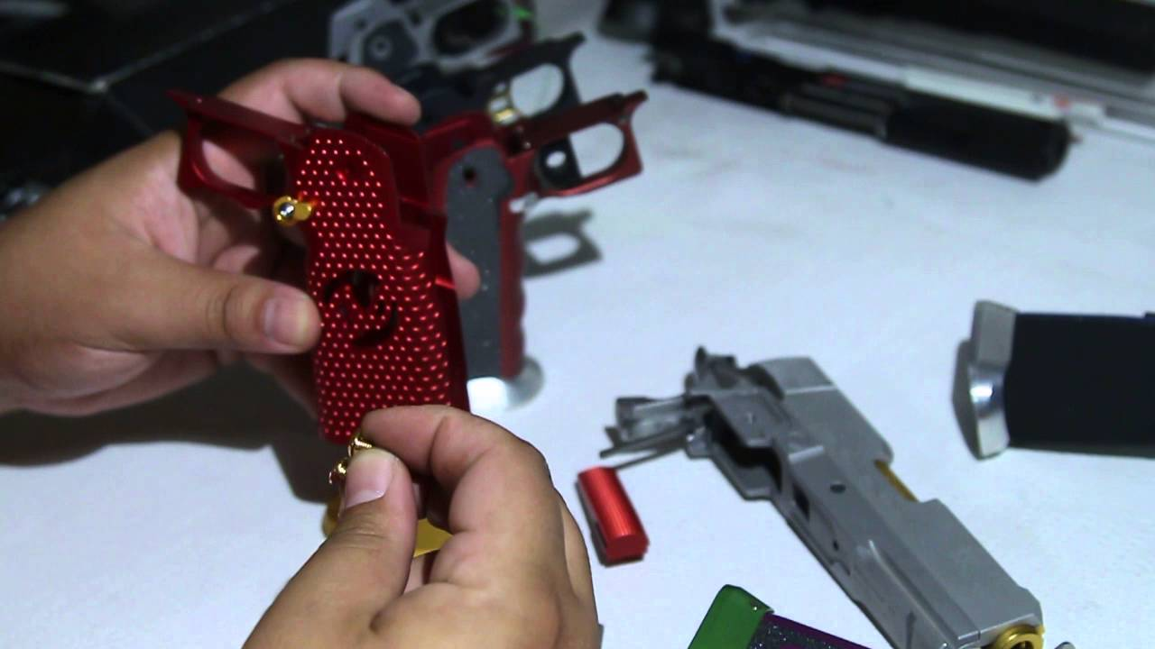 Airsoft Masterpiece NEW Grip Quick Overview Part 1 - KnucklesGSM