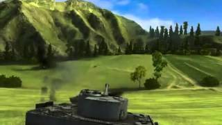 WoT Т-34 против Тигра в онлайн игре World of Tanks (Мир Танков)