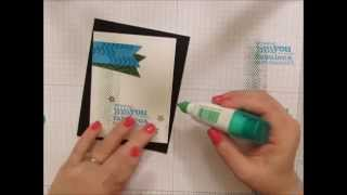 Masculine Birthday Card with StampNation and Verve