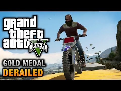 GTA 5 - Mission #53 - Derailed [100% Gold Medal Walkthrough] from YouTube · Duration:  14 minutes 22 seconds