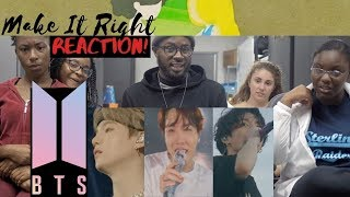 Gambar cover AMERICAN DANCERS React to BTS (방탄소년단) 'Make It Right (feat. Lauv)' Official MV