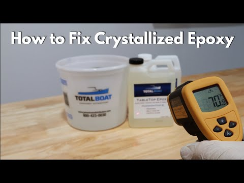 How to Fix Frozen or Crystallized Epoxy Resin