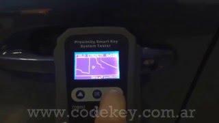 Proximity Car test TDB003 - Modos de Escaneo en el Sistema Proximity /Smart