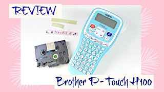 REVIEW: Etiquetadora Brother P-Touch H100