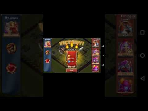 GET RID OF THE HEROES!! Castle Clash Ep #1