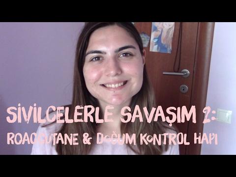 SİVİLCELERLE SAVAŞIM 2: ROACCUTTANE & DOĞUM KONTROL HAPI | Çekiliş Açıklanıyor!!!