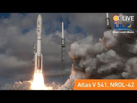 Трансляция пуска Atlas V (NROL-42)