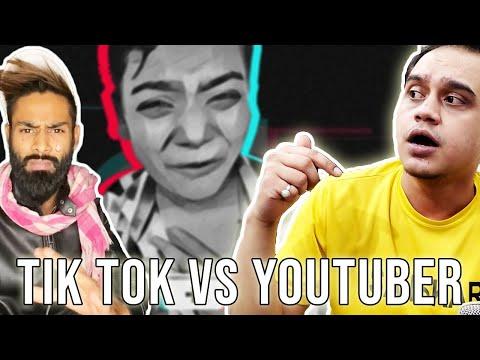YOUTUBER'S vs TIKTOKER'S   AMIR SIDDIQUI (TEAM NAWAB) KA HUTIYAPA!