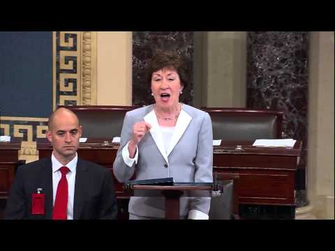 Senator Collins Speaks From the Senate Floor on the Iran Nuclear Agreement