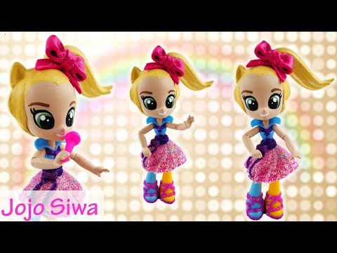 JOJO SIWA Custom Doll with MLP Equestria Girls Minis Doll DIY Tutorial