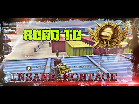 Zo Ruppo | Road To Conqueror | INSANE CLUTCH MONTAGE 🔥 | PUBG MOBILE