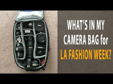 What's In My Camera Bag for LA Fashion Week?