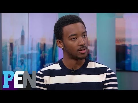 The New Edition Story: Algee Smith Describes Playing Ralph Tresvant | PEN | Entertainment Weekly