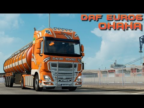 Euro Truck Simulator 2 - DAF XF Euro 6 by Ohaha - Test Drive Thursday #65