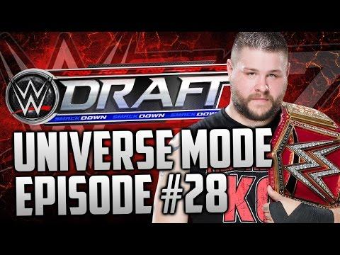 "WWE 2k17 Universe Mode: #28 ""The Draft""  (""WWE 2k17"" ""Universe Mode"" PS4/Xbox One)"