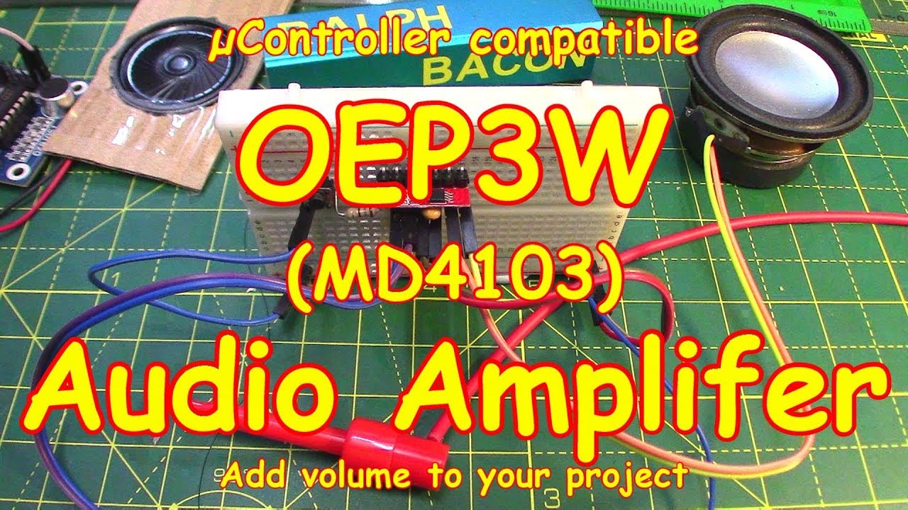 #121 Audio Amplifier 🎵 Class D 3W Module for Arduino (and more)