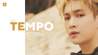 [2.94 MB] EXO - Tempo (Chinese Ver.) Line Distribution (Color Coded) | 엑소 - 節奏
