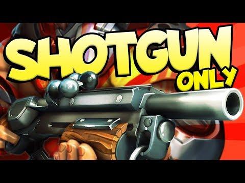 SHOTGUN ONLY WIN | Realm Royale