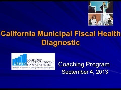 California Municipal Fiscal Health Diagnostic