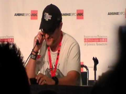 Steve Blum as Amon Telling ATLA and LOK Jokes at Anime Expo