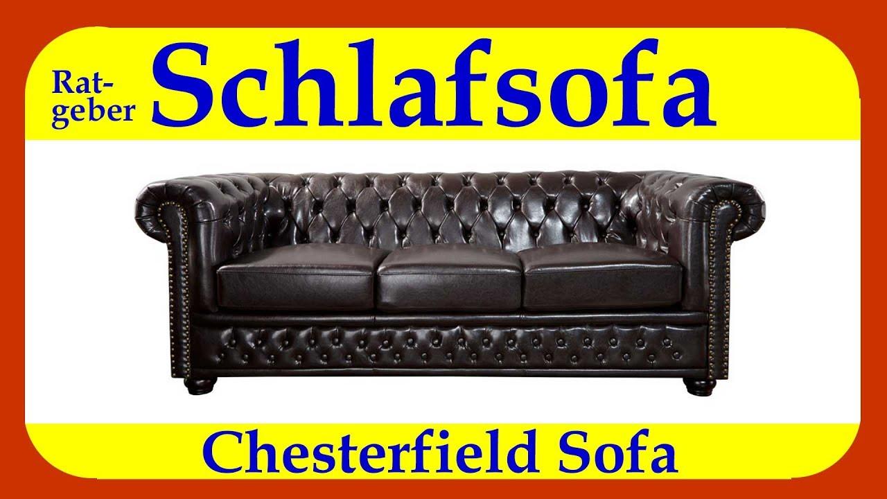 Schlafsofa chesterfield ob als 2 sitzer 3 sitzer oder eckcouch einfach klasse mit stil youtube - Schlafsofa chesterfield ...