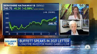 Longtime investor Mario Gabelli on what he learned from Warren Buffett's 2021 letter