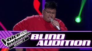 Niko - Blue Suede Shoes | Blind Auditions | The Voice Kids Indonesia Season 3 GTV 2018