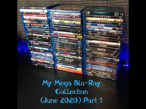 My Mega Blu Ray Collection Part 1 June 2020 (over 700 Titles)