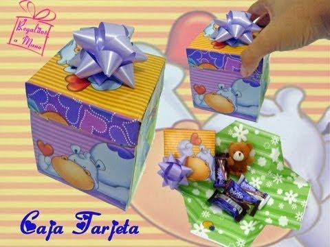 cajas para tarjeta regalo