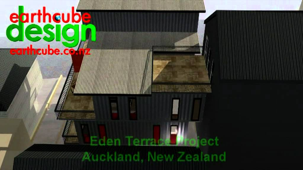 Eden Terrace Shipping Container Homes Youtube