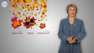 Русский 3 Словообразование имен существительных