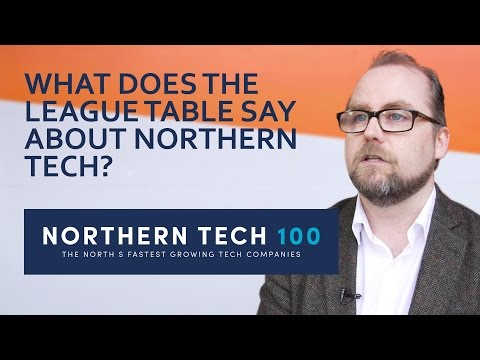 #NorthernTech100 - The North's Fastest Growing Tech Companies