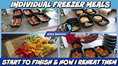 I Made Four Pioneer Woman Freezer Meals Ranch Pizza Pie Beef Sandwiches Stuffed Shells Youtube
