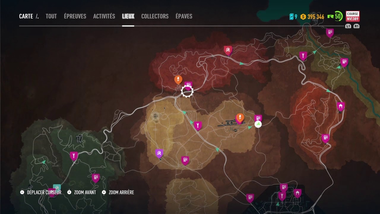 carte need for speed payback garage: Emplacement Garage Need For Speed Payback