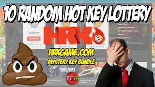 10 Random Hot Key Lottery (HRK Mystery Steam Key Opening) + BONUS GIFT!