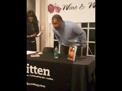 Meet Author Eriq La Salle at Wine and Words Event 011010