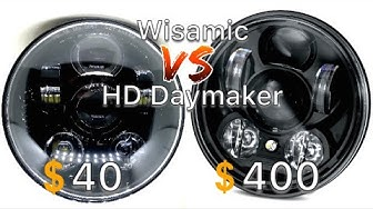 Daymaker/Wisamic Headlight Install/Comparison
